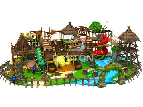 3D Indoor Playground Equipment Design