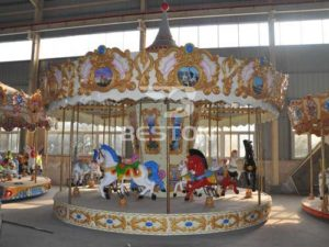 European Style 16 Seat Carousel Rides for South Africa