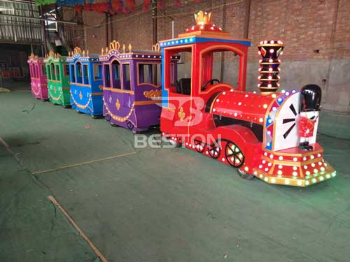Jazz Soldier Kiddie Electric Trackless Train for South Africa
