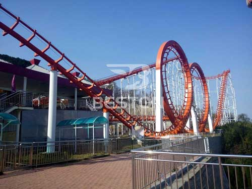 Four Ring Roller Coaster for Sale from Beston