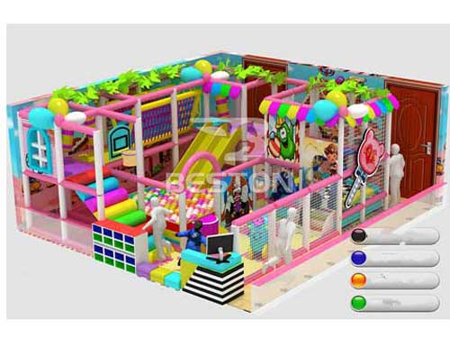 Kids 40 Meter Indoor Playground Equipment for Sale In South Africa