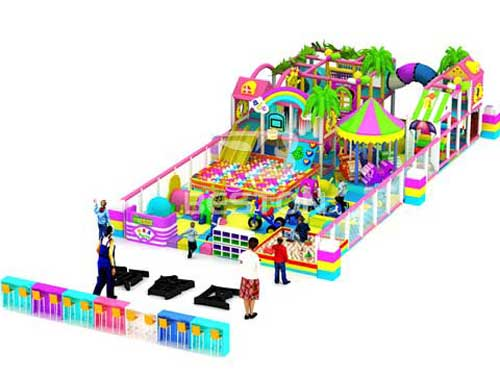 Candy Indoor Playground Equipment for Sale In South Africa