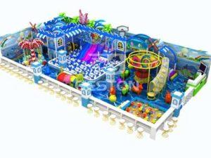 Ocean Theme Indoor Playground Equipment