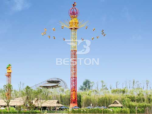 Flying Swing Tower Rides With 36 Seats for Sale In South Africa
