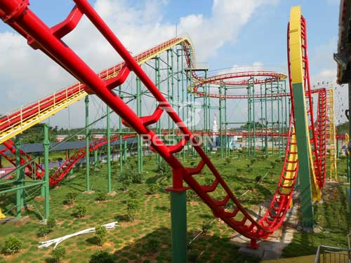 New Three Loop Roller Coaster for Sale In South Africa