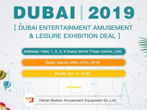 Beston Attend Dubai Entertainment Amusement & Leisure Exhibition Deal