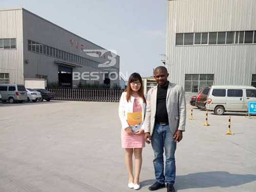 Beston Customer from Nigeria