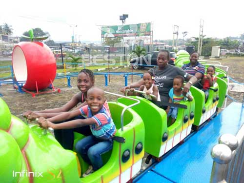 Beston Fruit Wrom Roller Coaster for Nigeria