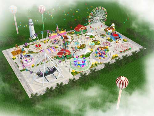 Free Large Amusement Park Design from Beston -1