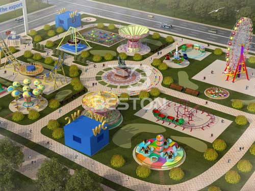 Free Large Amusement Park Design from Beston -2