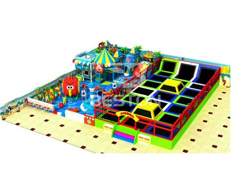 New Indoor Playground Equipment Design