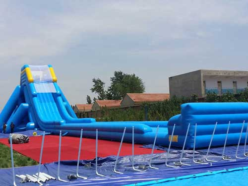 Long Blue Slip and Slide for Sale for South Africa