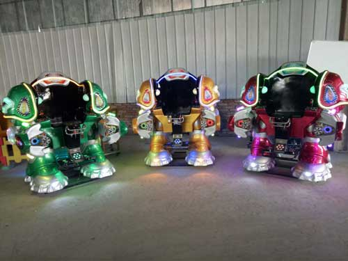 New Kiddie Robot Rides for Sale
