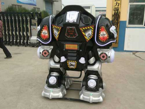 Black Kiddie Robot Rides for Sale
