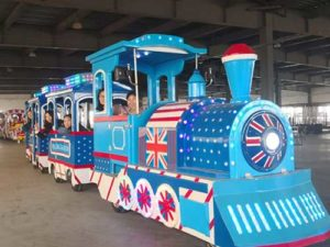 British Style Trackless Train for South Africa