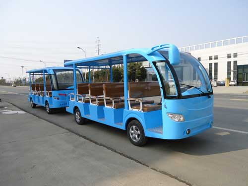 Blue Trackless Train for Sale for South Africa