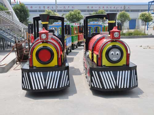 Smile Trackless Train Ride for South Africa Market