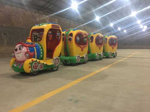 Kiddie Trackless Train Ride for South Africa