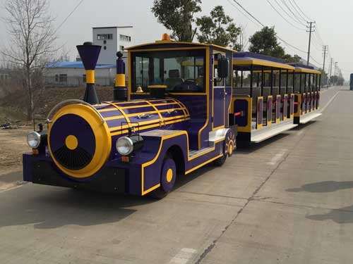 Large Quality Trackless Train Ride for South Africa