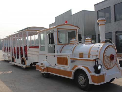 Beston Large Trackless Train Ride for South Africa