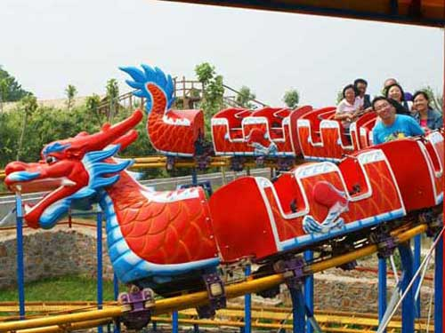 Red Dragon Roller Coaster Rides In South Africa