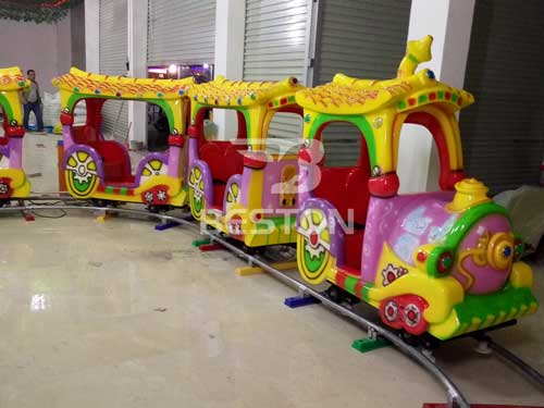 Kids Cartoon Track Train