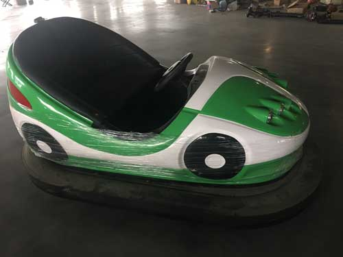 Green Bumper Cars