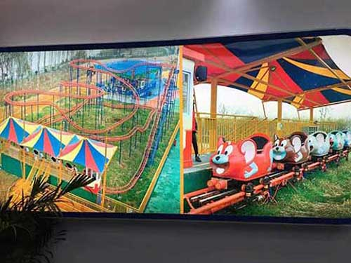 Crazy Mouse Family Roller Coaster for Sale