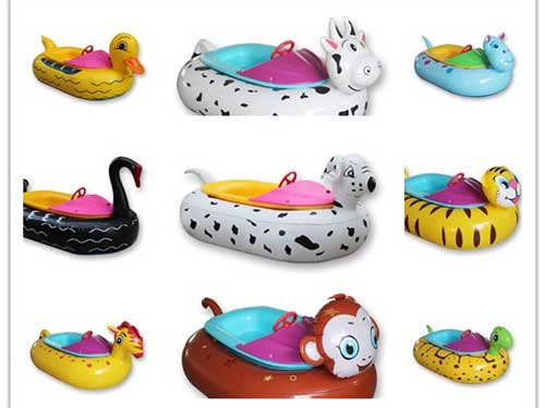 Kiddie Electric Bumper Boat In Stock