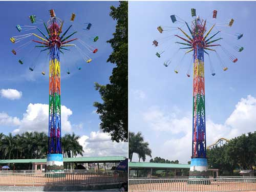 43 Meter Swing Tower Rides In Stock