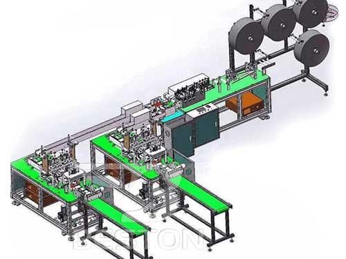 Fully Automatic Masks Making Machine