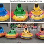 Small Size Inflatable Bumper Cars for South Africa
