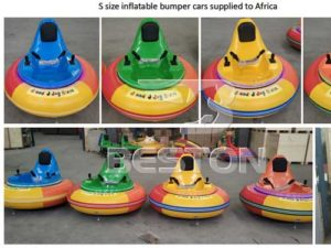 Small Size Inflatable Bumper Car