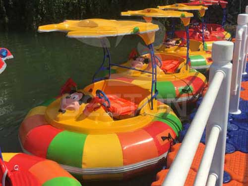 Water Bumper Cars With Proof for South Africa