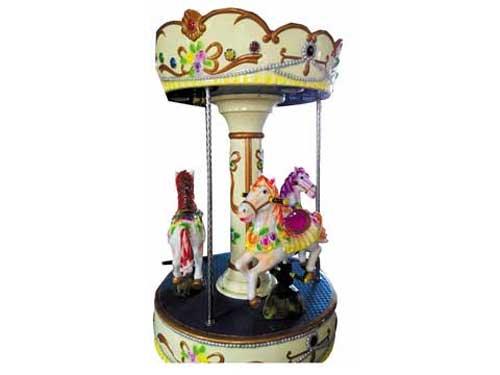 3 Seat Mini Carousel Rides