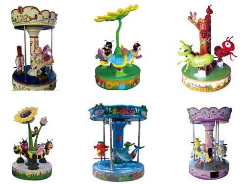 Mini Carousel Rides from Beston