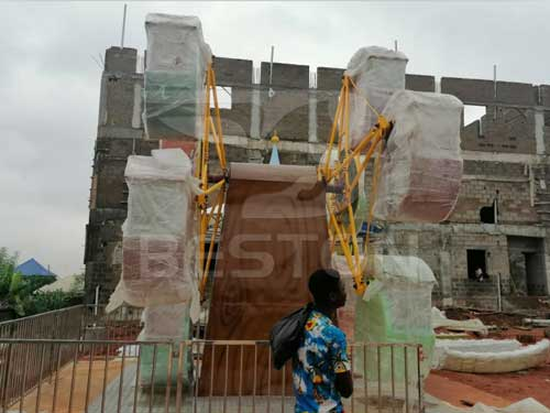 Beston Double Face Mini Ferris Wheel At Nigeria