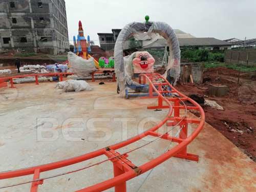 Beston Fruit Worm Roller Coaster for Nigeria