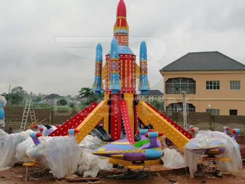 Beston Self-control Plane Rides for Nigeria