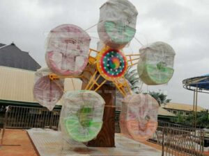 Mini Ferris Wheel Installed At Nigeria Park