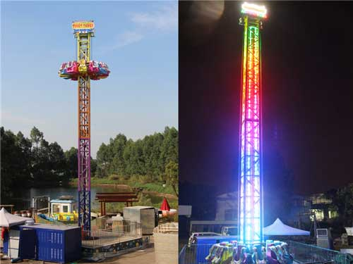 Thrill Drop Tower Rides for South Africa