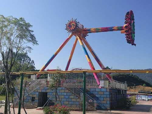 Thrill Pendulum Rides