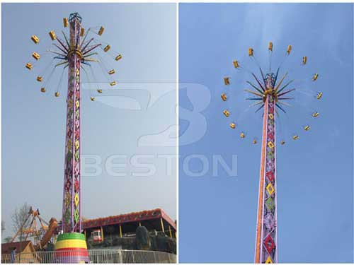 Thrill Swing Tower Rides for Sale
