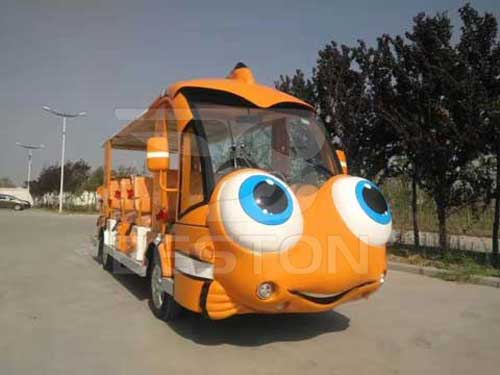 Clownfish Electric Shuttle Bus for South Africa