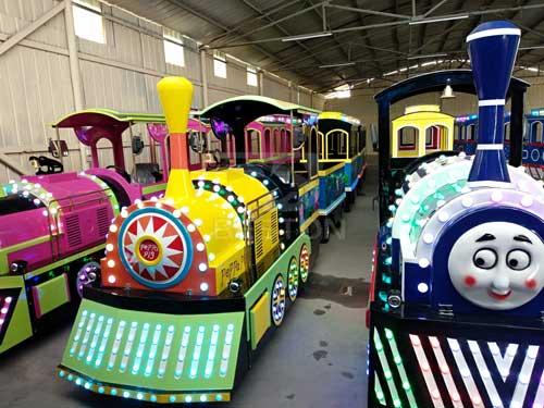 Train Amusement Rides for Nigeria