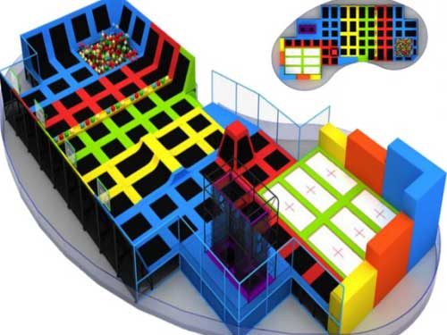 Beston Trampoline Park for South Africa